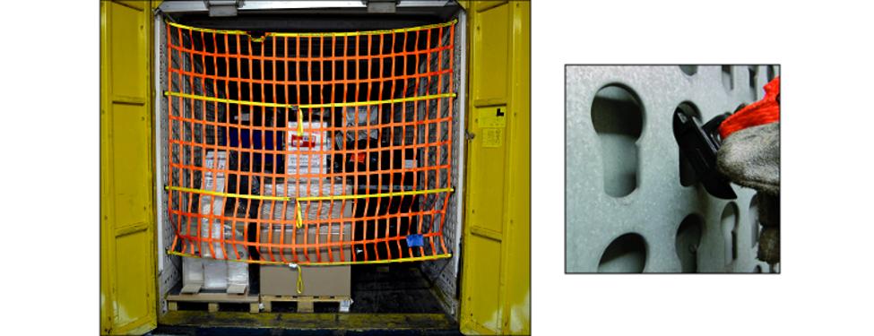 Professionelle Ladungssicherung für Paketdienste