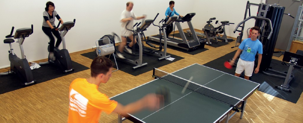 Fitnessraum Dolezych