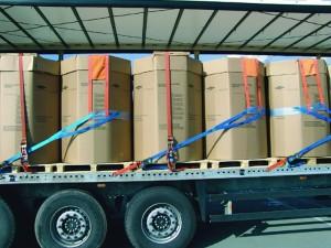 Ladungssicherung für instabile Ladegüter 1
