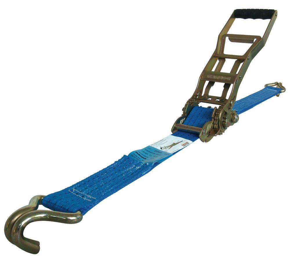Ratchet Belt Winder Lashing Strap Cargo Straps Safe And Secure 20-50 Mm Car Tie